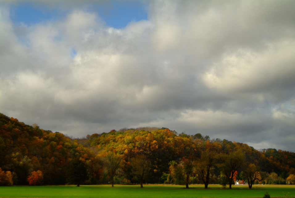 bucks  county pa skies & farm fields ©h scott heist 09