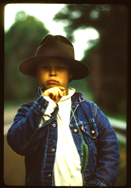 sophisticated country kid ©h. scott heist 09