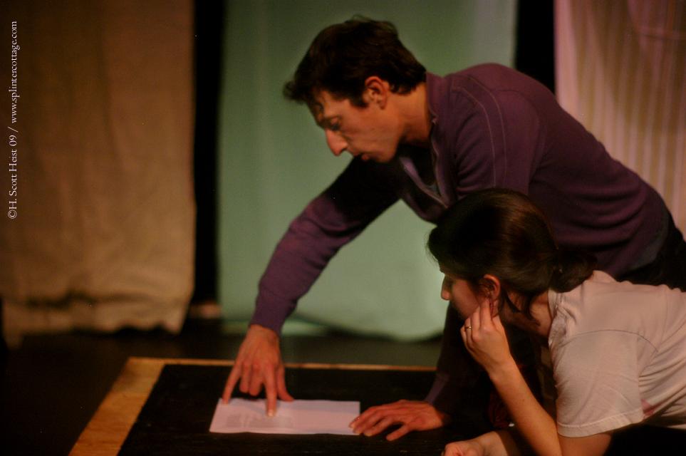 Jonathan David Martin and Vicky Graff at Touchstone Theater